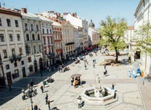 Площаль рынок Львова